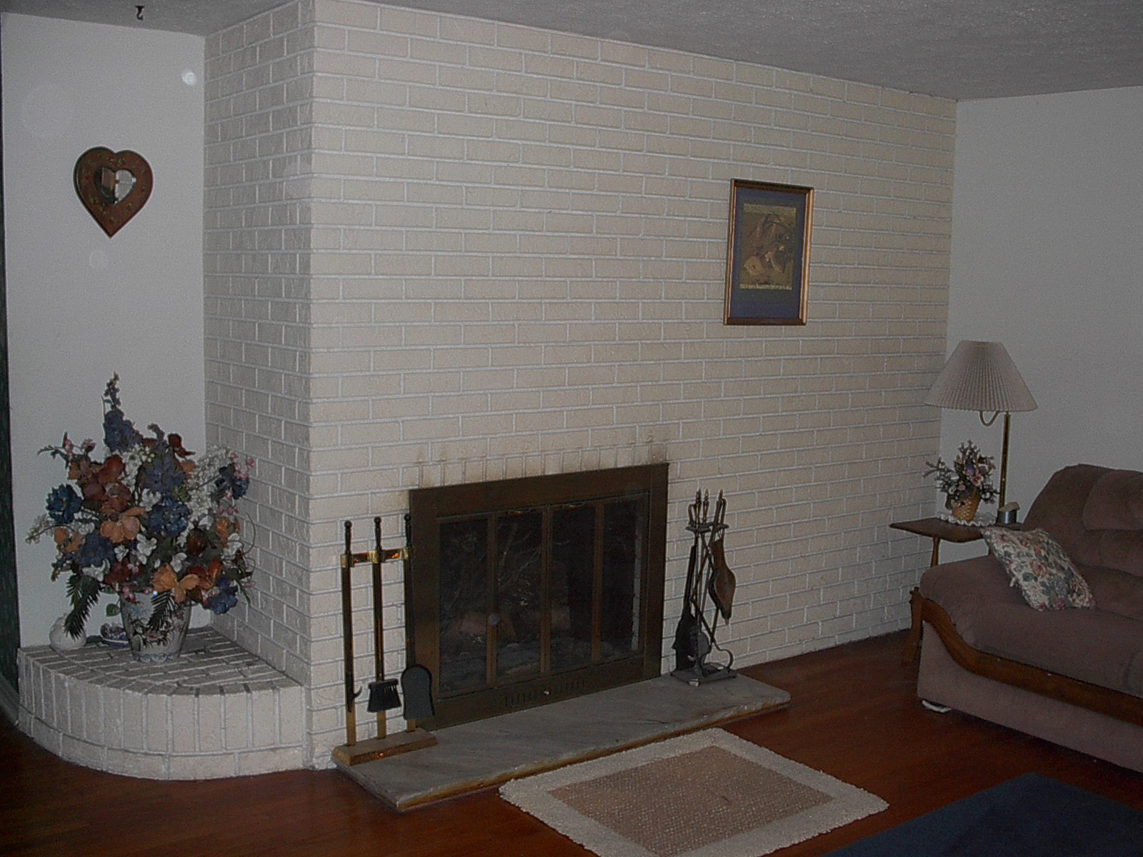 Formal Living Room FirePlace